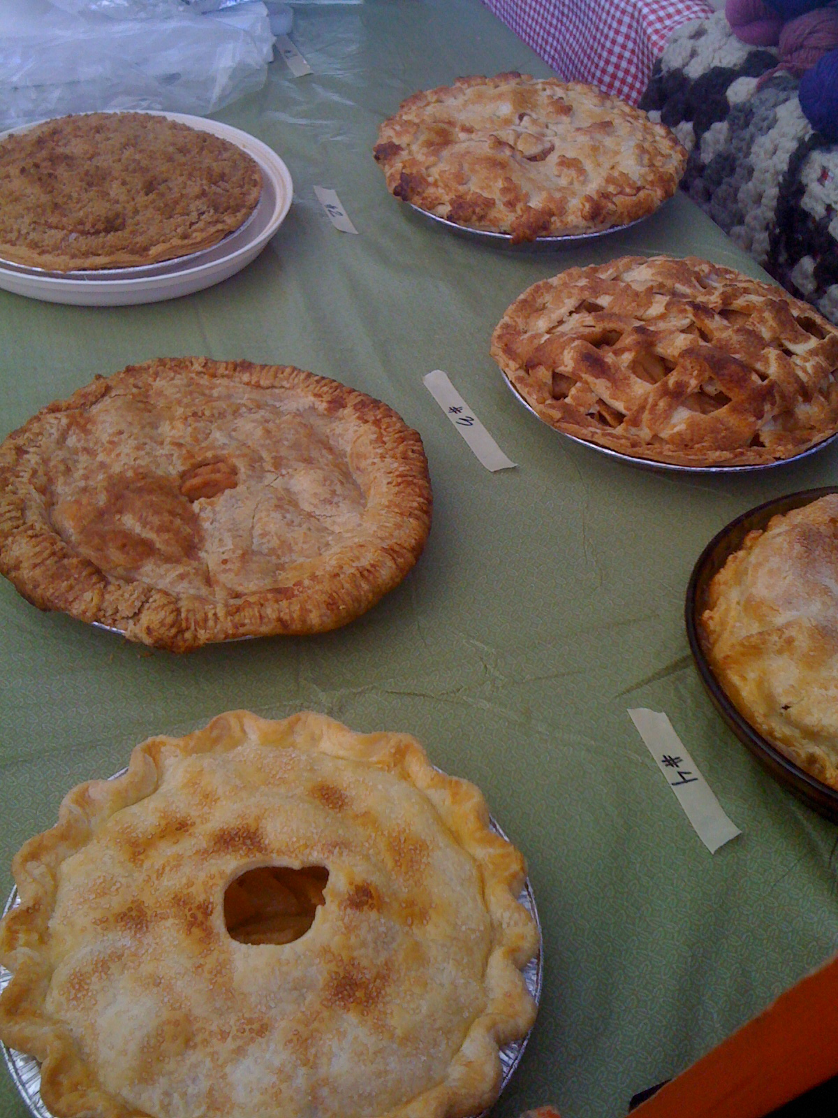 pie display